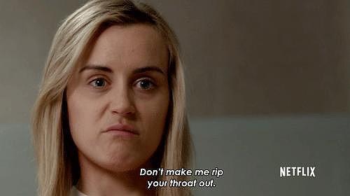 When Piper Legitimately Scares You