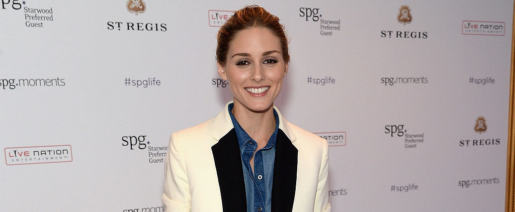 """Olivia Palermo Wears a """"Canadian Tuxedo"""" Tuxedo — and It Totally Works"""