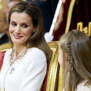 Queen Letizia at King Felipe VI's Coronation   Pictures