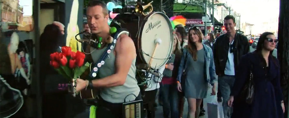 That Was Quick! Coldplay's Video Filmed in Sydney Is Already Out