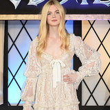 Elle Fanning Princess Fashion Red Carpet | Video