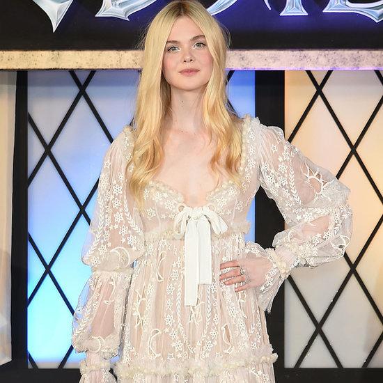 Elle Fanning Princess Fashion Red Carpet   Video