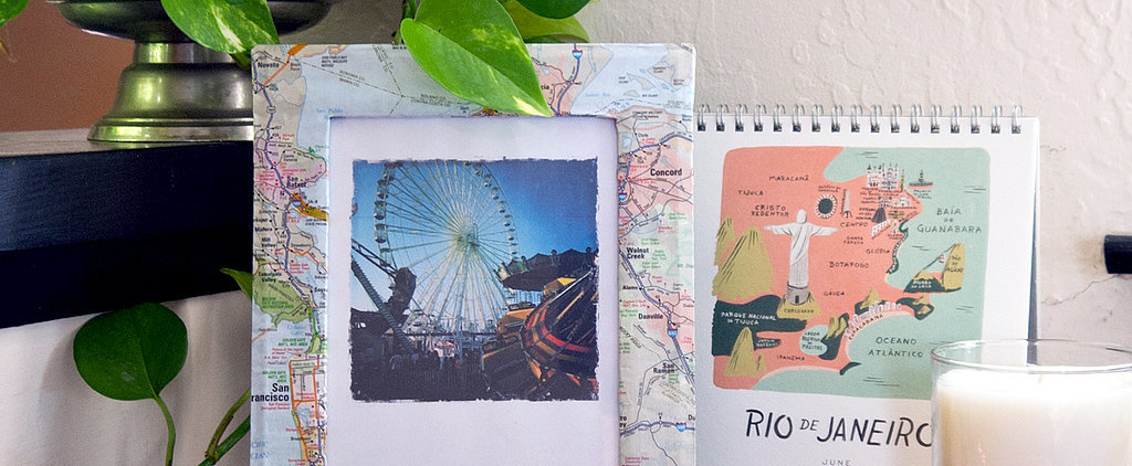 Go Places With a DIY Map Picture Frame