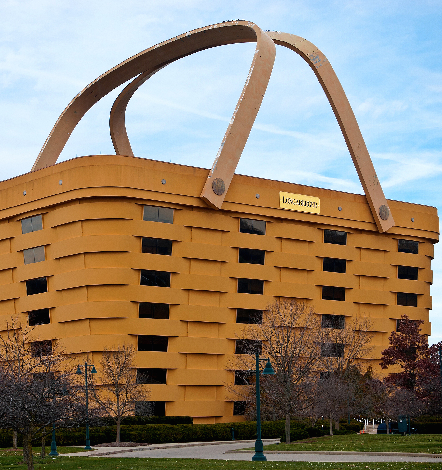 Longaberger Basket Building 32 Surreal Travel Spots You