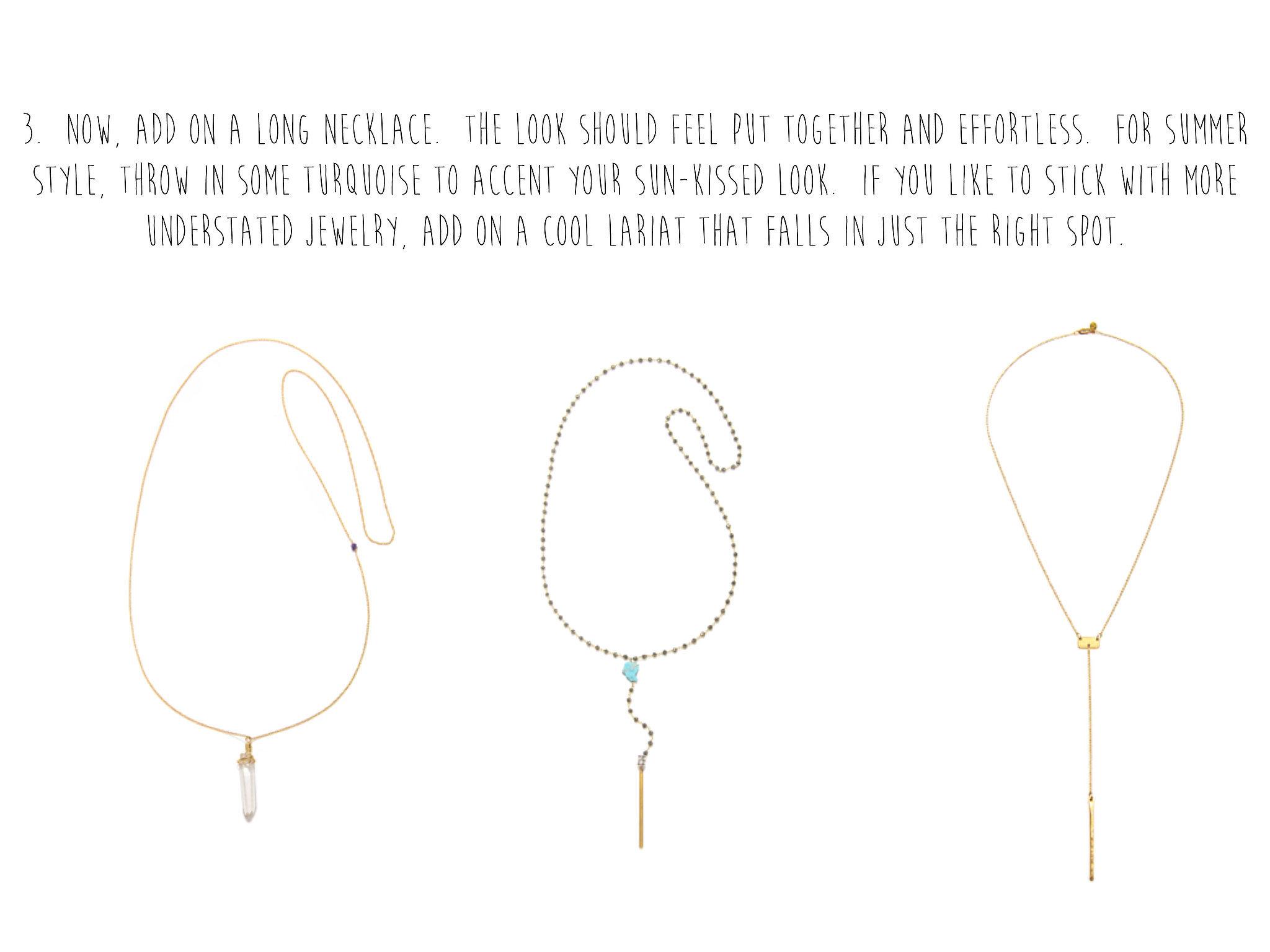 Add a Third, Longer Necklace