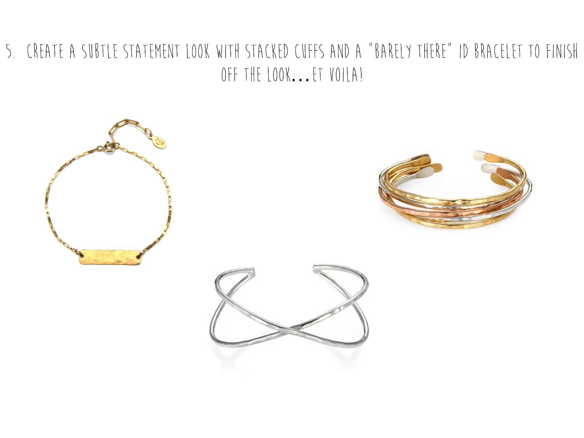 Add Your Bangles to Create an Arm Party