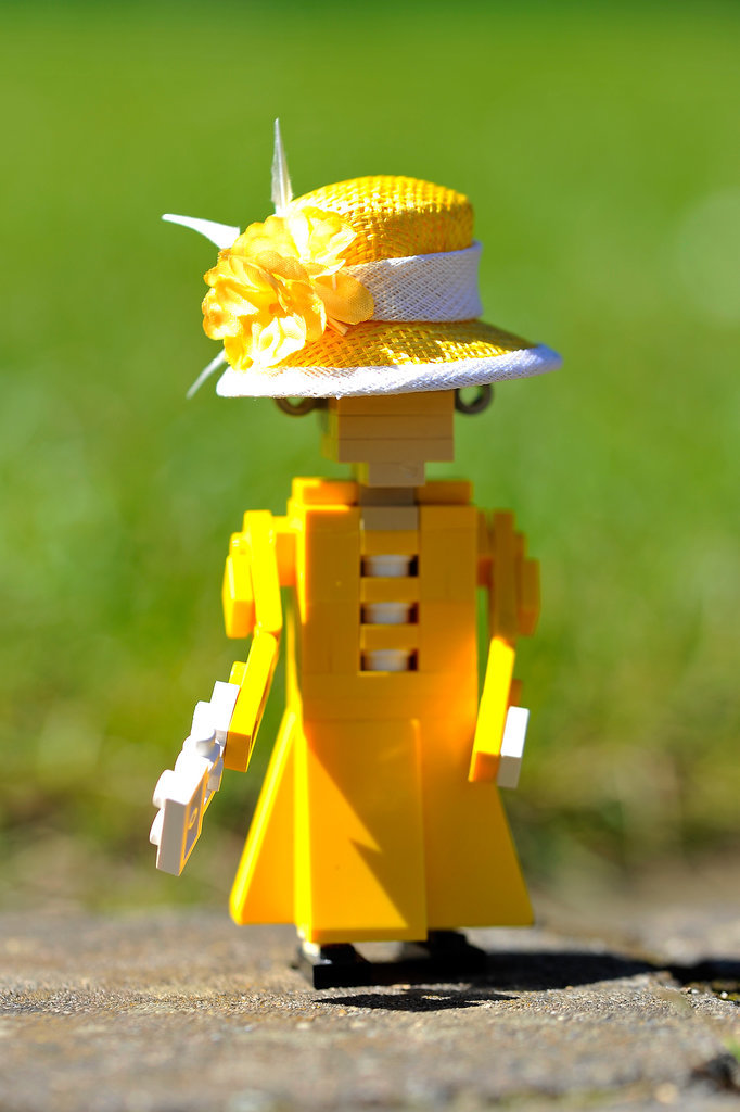 Lego Queen Elizabeth II . . . and Her Hat
