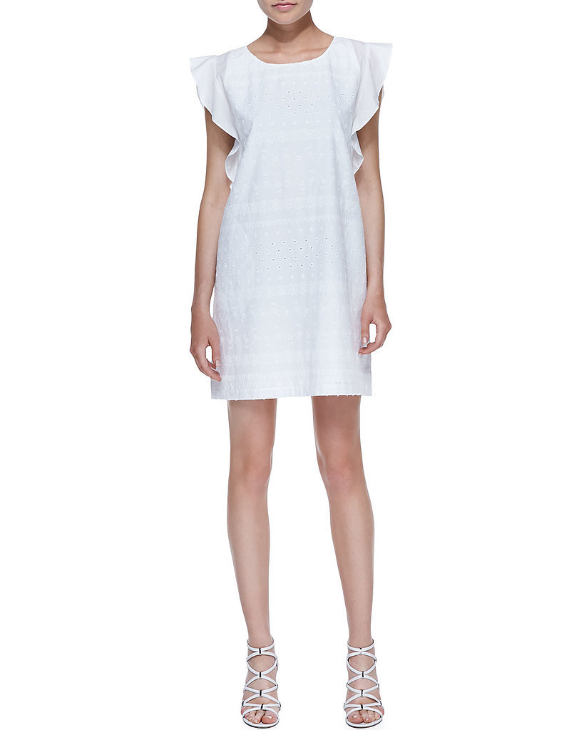 Rebecca Minkoff White Eyelet Dress