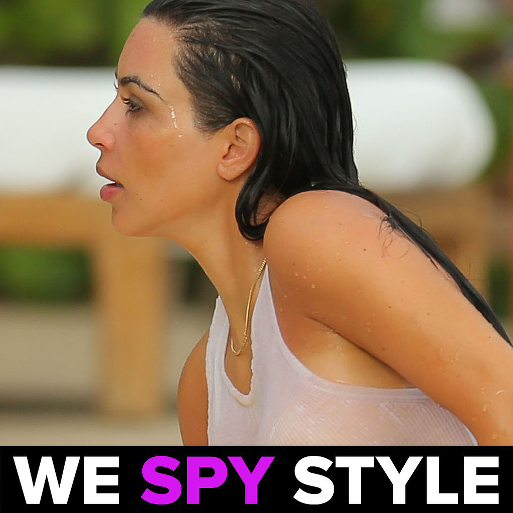We Spy Style Kim Kardashian Wet T-Shirt | Video