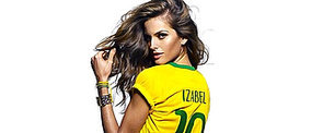Brazilian Supermodels Show Sexy Team Spirit For the World Cup!