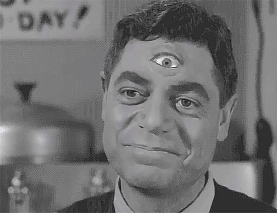 "The direction to ""focus on your third eye"" actually makes sense."