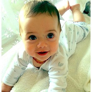 Kaius-Berman-all-smiles-mom-Rachel-Zoe
