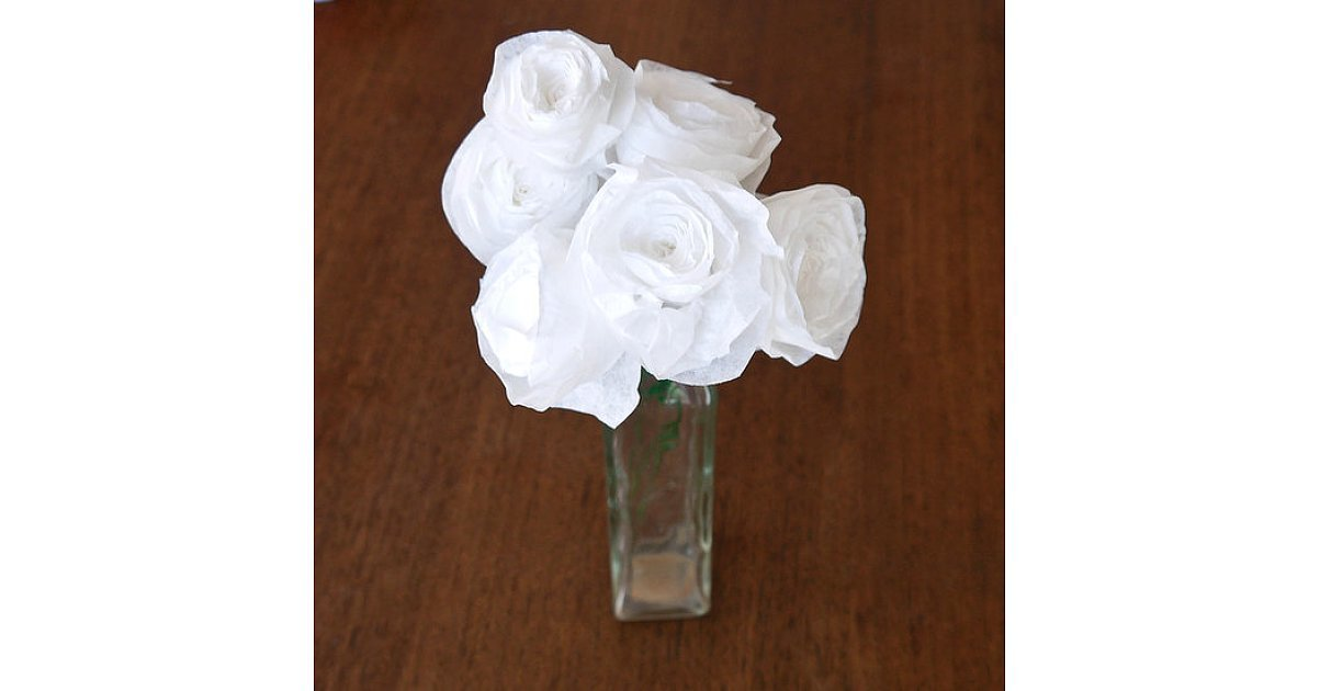 Coffee Filter Roses 221 Upcycling Ideas That Will Blow