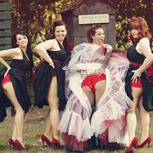 Bridesmaids Butt Trend