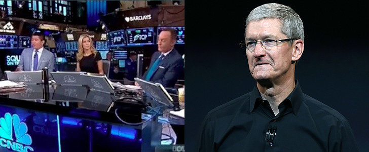 Did This CNBC Anchor Just Accidentally Out Apple's CEO?