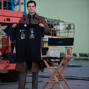 First Picture Henry Cavill As Clark Kent Batman V Superman