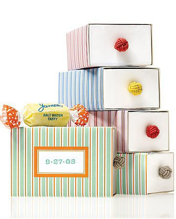 Bright and Peppy Wedding Favor Labels