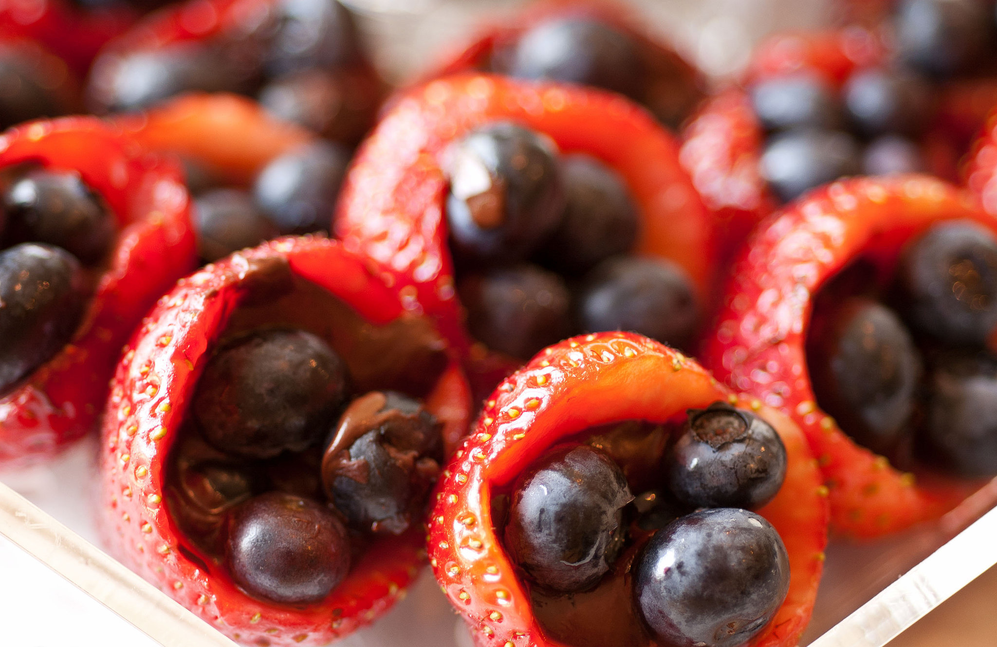 Summer Fruit Poppers