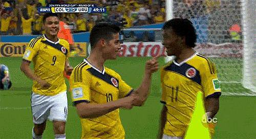 The Adorable Dance the Colombians Do After Every Goal