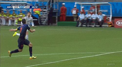 That Amazing Goal by Robin van Persie (aka the Flying Dutchman)