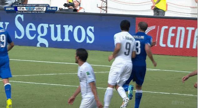 When Uruguay's Luis Suárez Chomped Into Italy's Giorgio Chiellini
