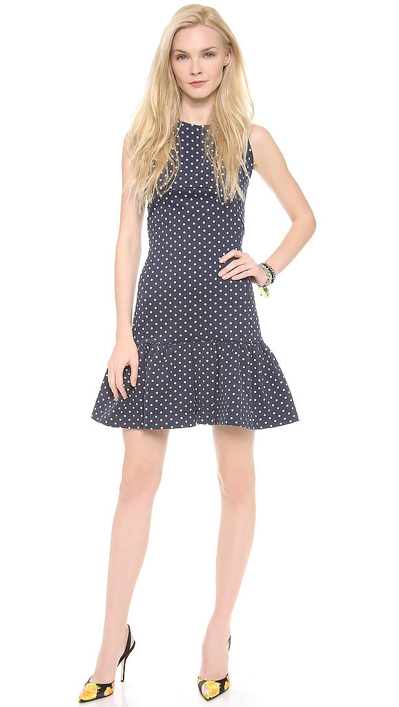 Mother of Pearl Polka-Dot Dress