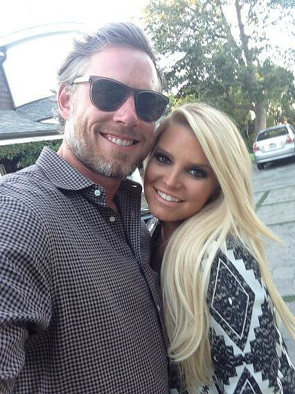 Jessica shared this snap of her and Eric during his birthday weekend in September 2013. Source: Twitter user JessicaSimpson