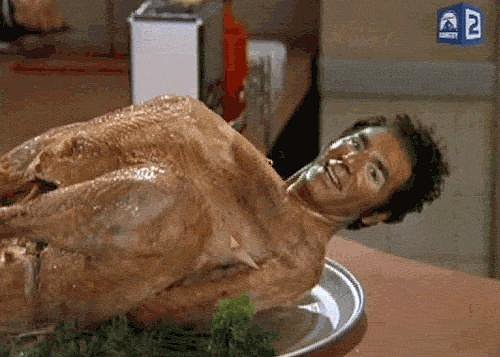 When Kramer Is a Big Ol' Turkey