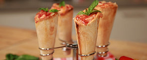 No, That's Not Ice Cream, It's a Pizza Cone!
