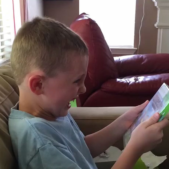 Boy's Reaction to Minecraft