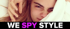 We Spy: Is Cara Delevingne's Partying Causing Her to Fall Asleep On the Job?