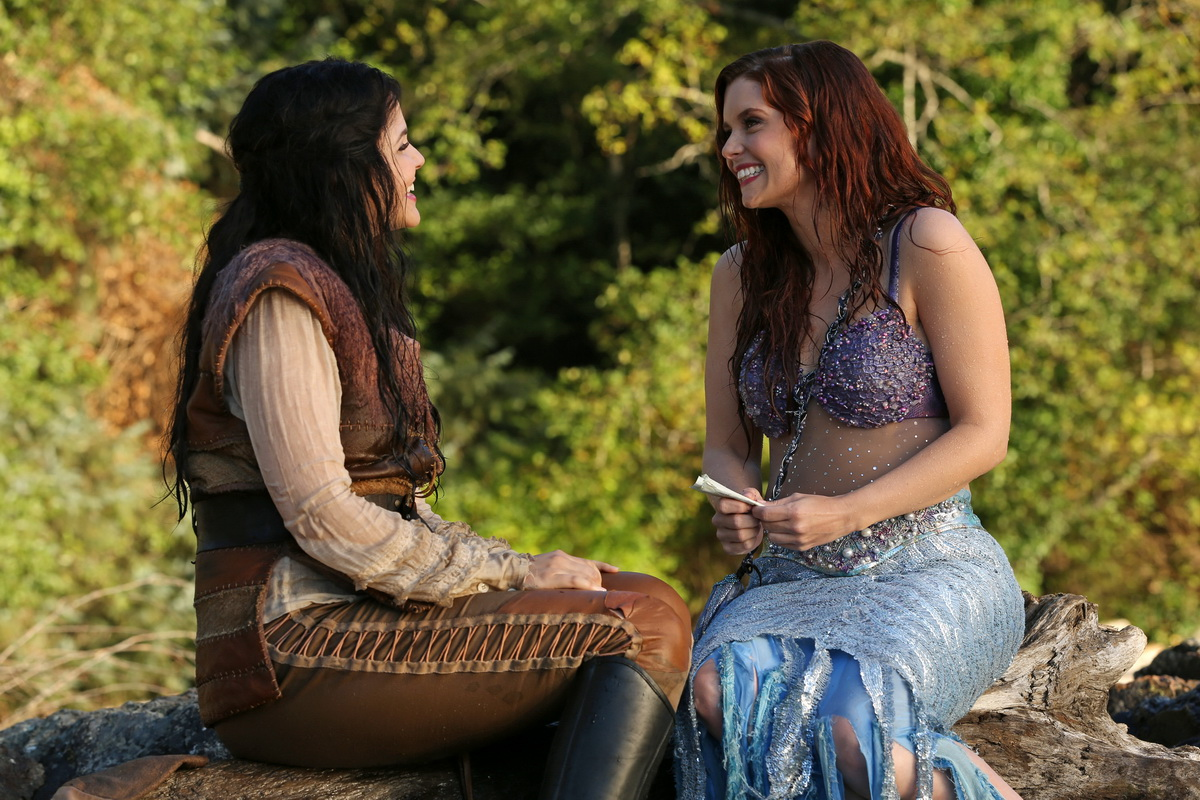 Cross-Fairy-Tale Connections With Other Characters, Like Ariel