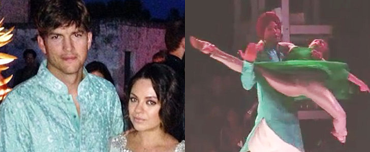 Ashton Kutcher and Mila Kunis Aren't Your Typical Wedding Guests