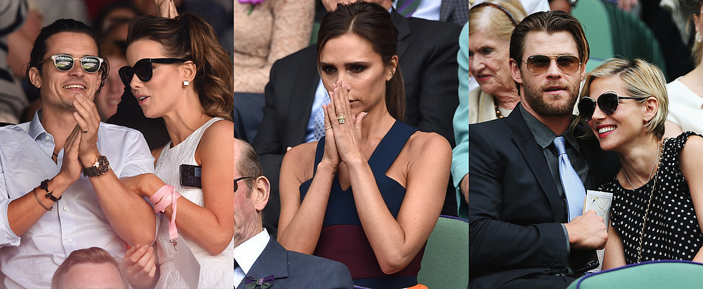 What Tennis Match? It's All About the Celebrities at Wimbledon
