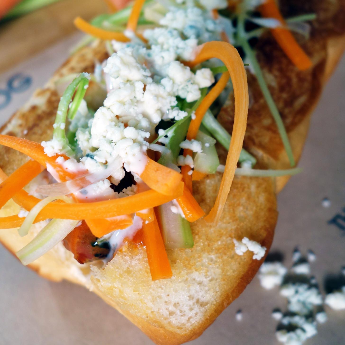 Buffalo Chicken Sausage Sandwich Recipe   POPSUGAR Food