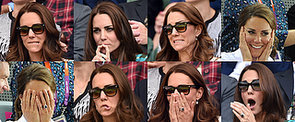 A Guide to The Duchess of Cambridge's Least Princess-y Facial Expressions