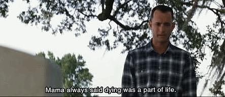 When Forrest Visits Jenny's Grave