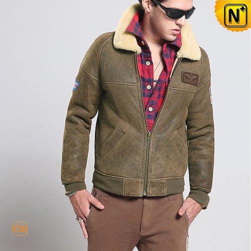 Shearling Mens Jacket CW860121