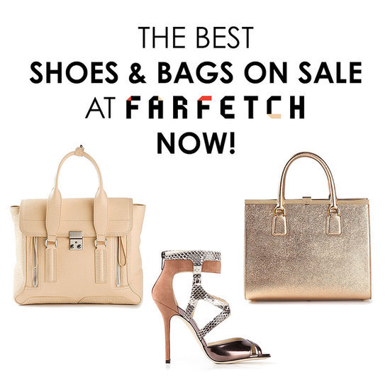 The best designer shoes and bags from the Farfetch sale