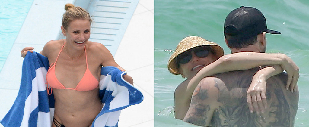 Cameron Diaz Flaunts Her Bikini Body and Hits the Beach With Benji Madden