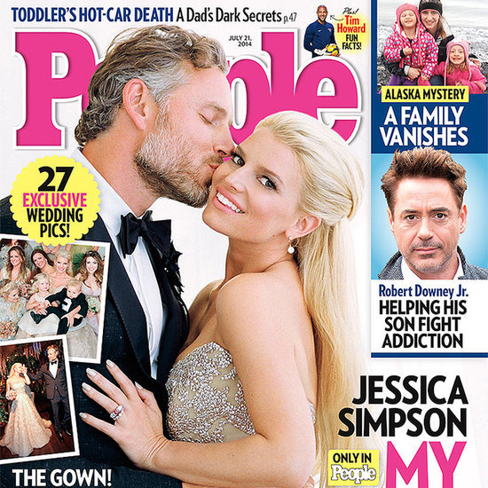Jessica Simpson and Eric Johnson Wedding Photos
