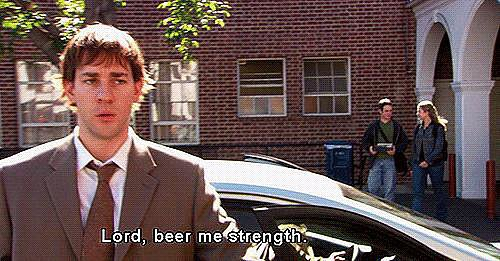 He Believes in the Power of Beer