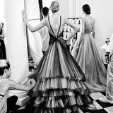 Black-and-White Photos From Haute Couture Fashion Week 2014