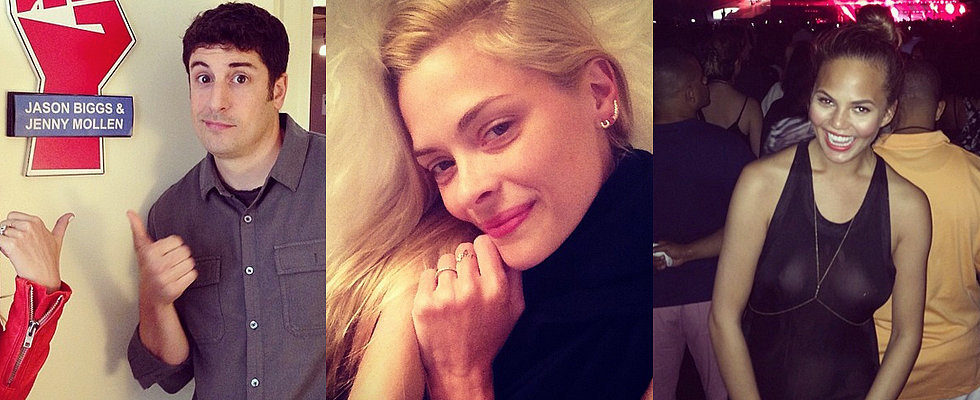 Celebrity Tweets of the Week: Jason Biggs, Jaime King, Chrissy Teigen and More!
