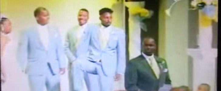 You'll Never Guess What Happens at the Altar in This Wedding Video