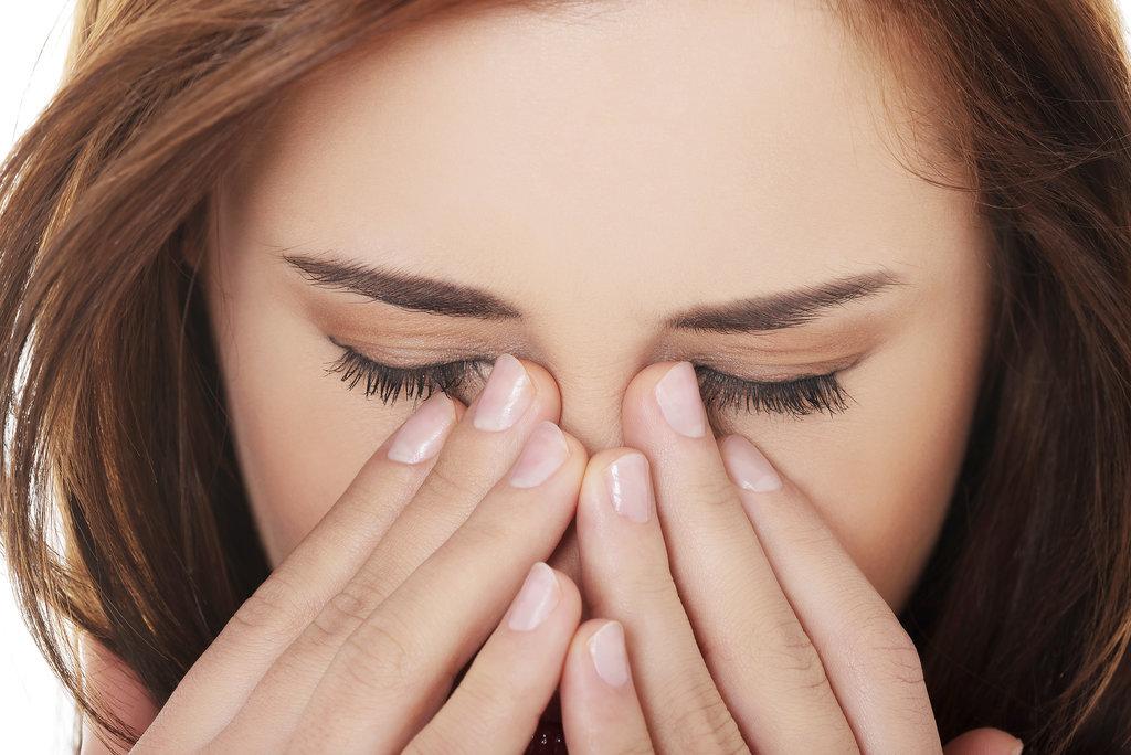 Protect a sore nose