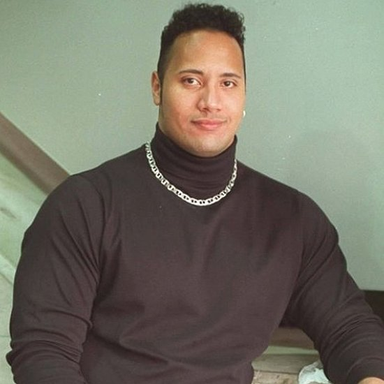 The Rock in '90s Throwback Photo