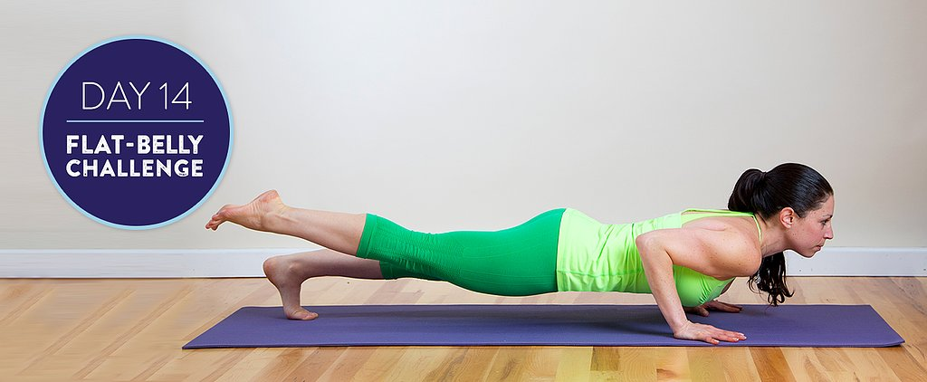Flat-Belly Challenge Day 14: Strong-Abs Yoga and a High-Protein Paleo Dinner