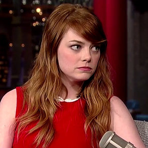 Emma Stone Interview With Letterman July 2014