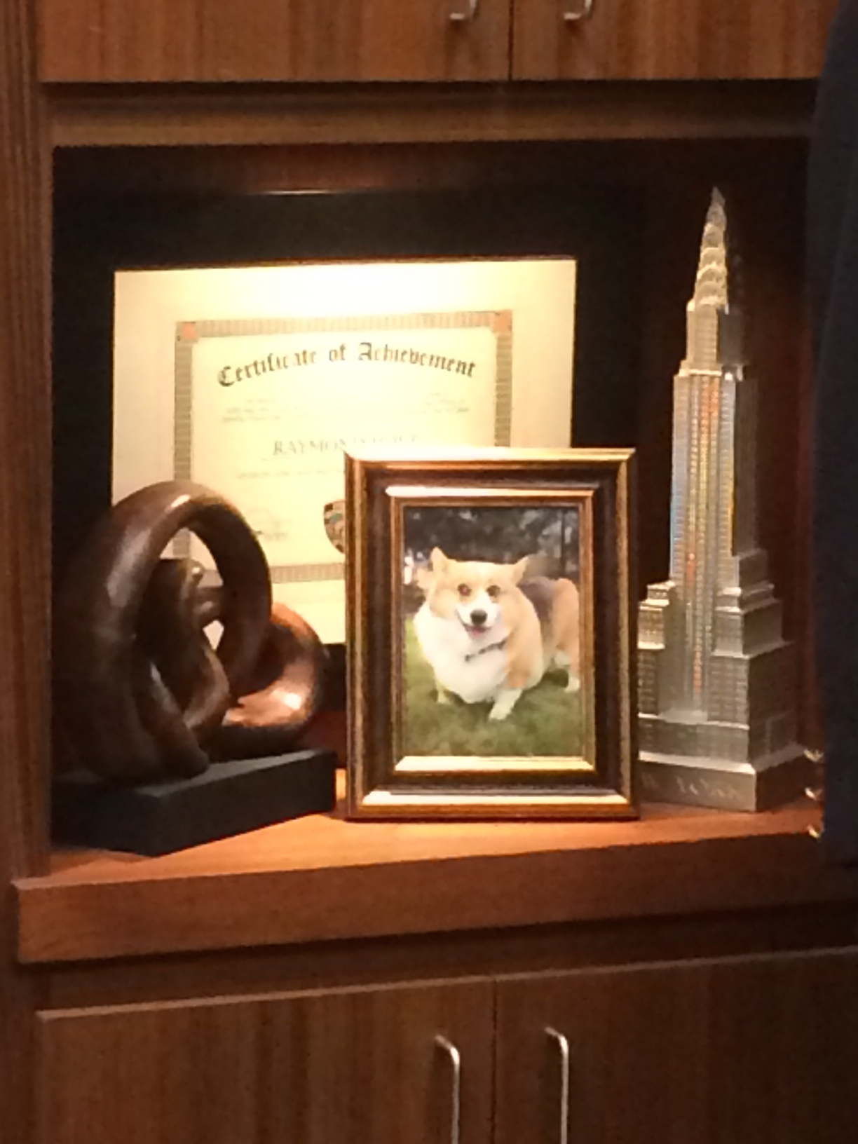 Behold: the best part of Captain Holt's office.